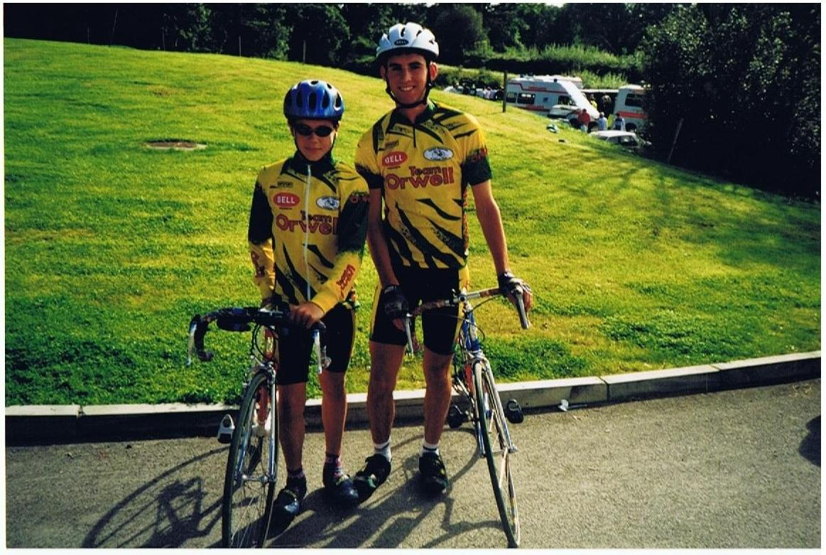 Brian Ahern and Nic Roche at the '96 National Champs. in Kanturk